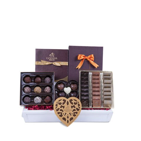 The Choice Selected Godiva Chocolate