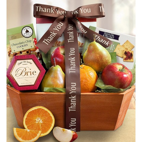 Fresh From the Orchard Fruit Gift Baske