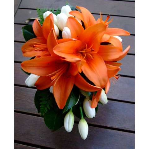 Lilies in marmalade