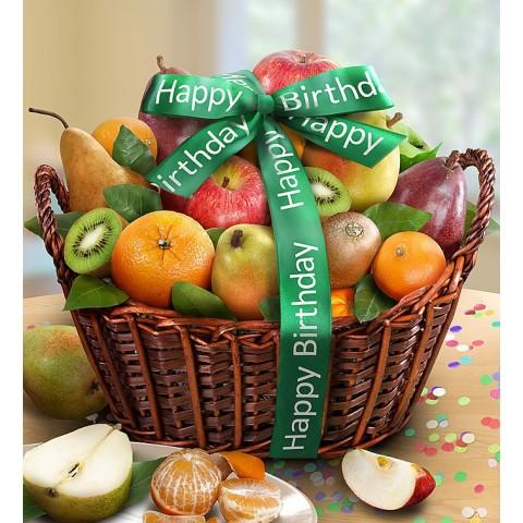 Happy Birthday Premier Fruit Gift