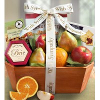 Fresh Fruit Sympathy Box