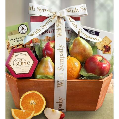 Fresh Fruit Sympathy Box