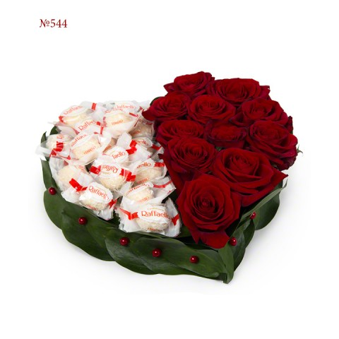 Sweets and Dark Wine Red Roses