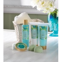 Cucumber And Basil Spa Set
