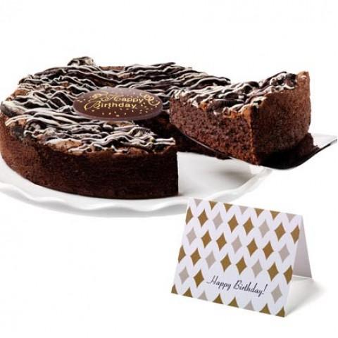 Cookies & Cream Brownie Cake