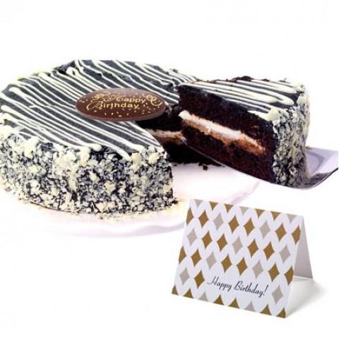 Black & White Mousse Cake