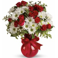 Scarlet White Bouquet