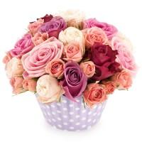 Cupcake of Roses