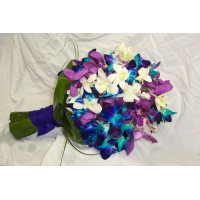 Tri colored bouquet