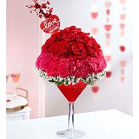 Cocktail of roses