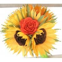 Wedding Sunflower bouqet