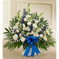 A Tribute Blue & White