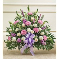 Tribute Lavender&White