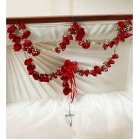 Large Rosary Red Roses