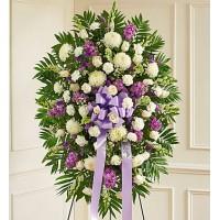 Lavender & White Sympathy