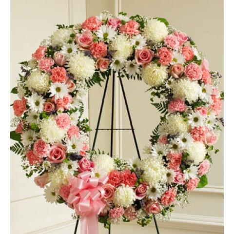Serene Blessings Pink & White